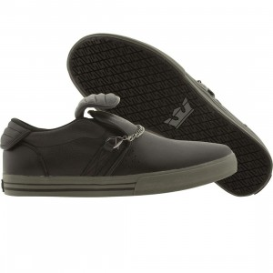 Supra Cuban (black / grey)