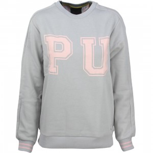 Puma x Vashtie Women Crew Sweater (gray)