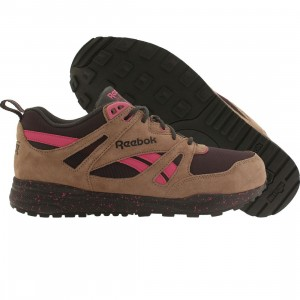 Reebok Men Ventilator Exp (brown / taupe / night violet / gravel / charged pink)