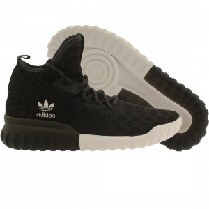 Adidas Men Tubular X Primeknit (black / carbon / vintage white)