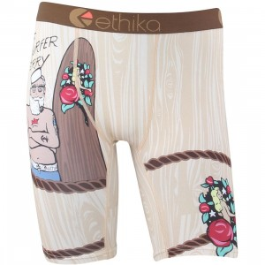 Ethika Men Surfer Jerry Boxers (tan / sand)