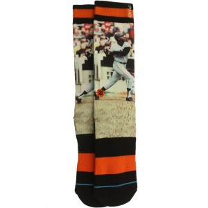 Stance x MLB San Francisco Giants Mccovey Cove Socks (orange)