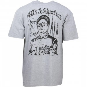 40s and Shorties Men Glorious Leader Tee (gray)