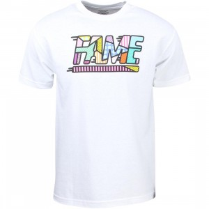 Hall of Fame Men Fame Mixtape Tee (white)