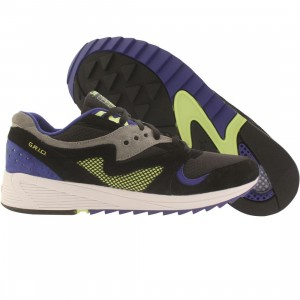 Saucony Men Grid 8000 CL Premium (black / grey / purple)