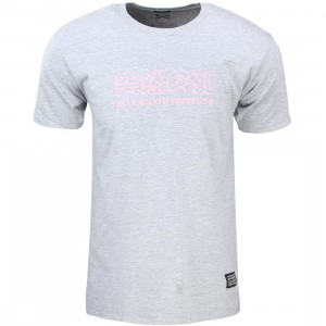 Bloodbath Men Subtitle Tee (gray / salmon)