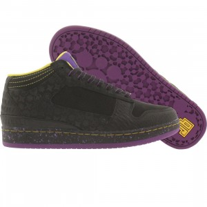 JB Classics Getlo Mid Shurikens Black - Ice (black   purple   yellow) f8faa1f6cd92