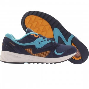Saucony Men Grid 8000 CL Premium (blue / light blue)