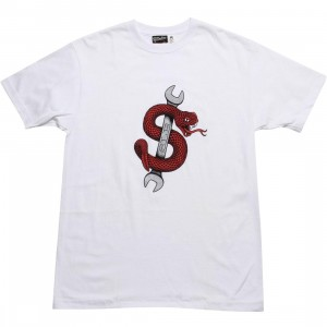 SLB Medium Snake Tee (white)