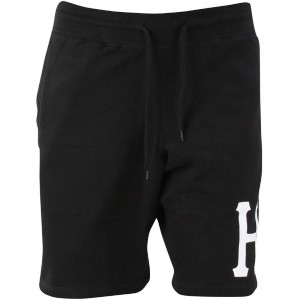 HUF Men PT Fleece Shorts (black)