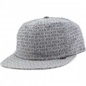 HUF Fuck It 6 Panel Cap (blue / chambray)