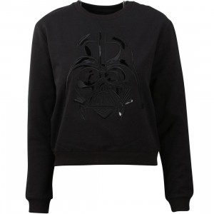 Eleven Paris x Star Wars Women Powerspace Sweater - Darth Vader (black)