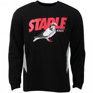Staple Men Runners Tee (black)