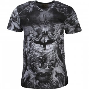 Eleven Paris Men ASAP Hoky Tee (black / olai print)