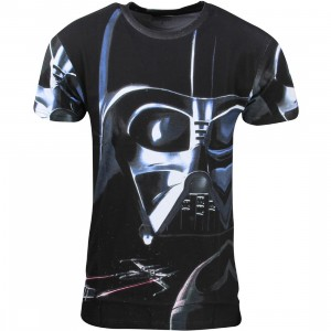 Eleven Paris x Star Wars Men Vader Staker Tee (black)