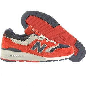 New Balance Men 997 Connoisseur Ski M997CSIY - Made In USA (red / navy / silver)