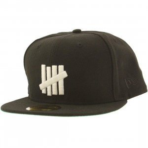 Undefeated 5 Strike Glow New Era Cap (black)