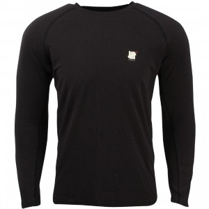 Undefeated Men Tech Raglan Long Sleeve Tee (black)