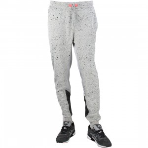 Staple Men Runner Sweat pants (gray / heather)