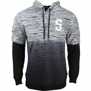Staple Men Tephra Hooded Tee (gray / heather)