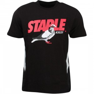 Staple Men Runners Short Tee (black)