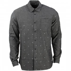 Diamond Supply Co Men Diamond Work Long Sleeve Shirt (black)