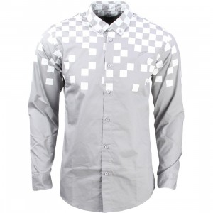 Publish Men Rafii Button Up Shirt (gray)