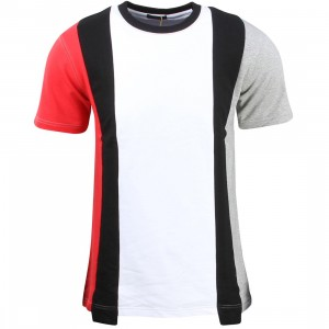 Unyforme Men Moore Knit Tee (white / black / red / gray)