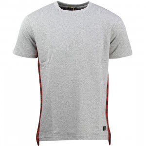 Unyforme Men Edward Knit Tee (gray / heather)