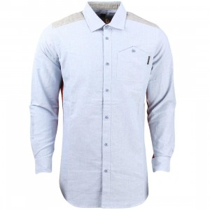 Unyforme Men Edward Woven Shirt (blue)