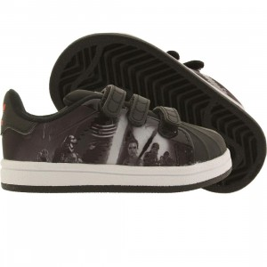 Adidas Toddlers Superstar Modern Star Wars (black / translucent / hi-res red)