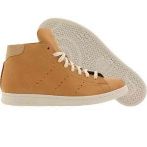 Adidas Men Stan Smith High Top - Horween Leather Pack (tan)