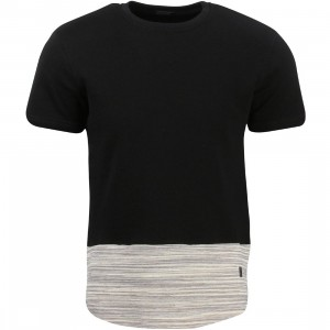 Unyforme Men Prall Knit Tee (black)