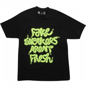 Bobby Fresh Fake Lace Tee (black / green)