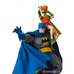 PREORDER - Medicom MAFEX The Dark Knight Returns Batman Blue Ver. And Robin Figures (blue)