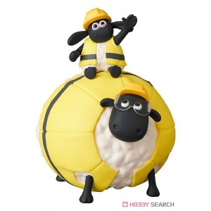 PREORDER - Medicom UDF A Shaun the Sheep Movie Farmageddon Timmy And Shirley Figure (yellow)