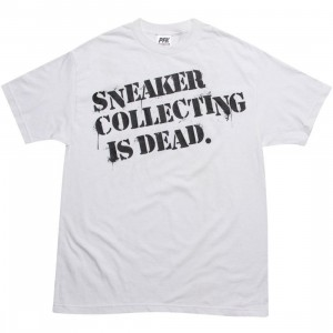 Playing For Keeps Sneaker Collection is Dead Tee (white)