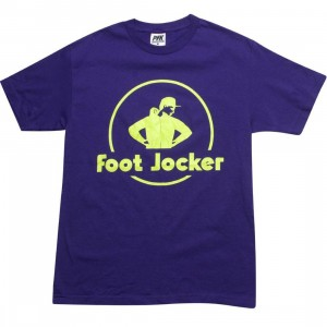 Playing For Keeps Foot Jocker Tee (purple)