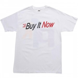 Playing For Keeps Buy It Now Tee (white)