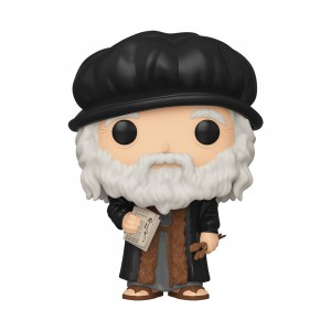 PREORDER - Funko POP Artists Leonardo DaVinci (black)