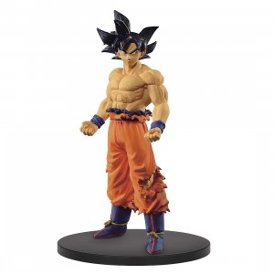 PREORDER - Banpresto Dragon Ball Super Creator x Creator Ultra Instinct Sign Son Goku Figure (orange)