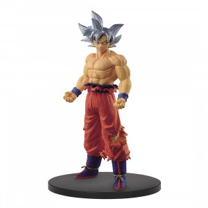 PREORDER - Banpresto Dragon Ball Super Creator x Creator Ultra Instinct Son Goku Figure (silver)