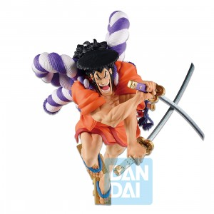 PREORDER - Bandai Ichibansho One Piece Legends Over Time Kozuki Oden Figure (orange)