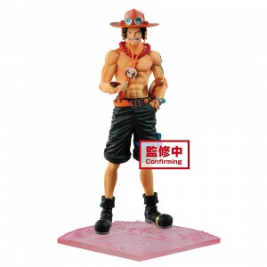 PREORDER - Banpresto One Piece Magazine Figure Special Episode Luff Vol. 2: Portgas D. Ace Figure (tan)