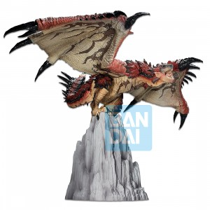 PREORDER - Bandai Ichibansho Monster Hunter Rathalos Figure (red)