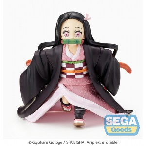 PREORDER - Sega Demon Slayer Kimetsu no Yaiba Little Nezuko Kamado SPM Figure (pink)