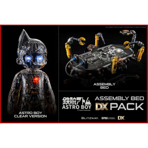 PREORDER - Blitzway Astro Boy Assembly Bed DX Pack - Clear Version And Assembly Bed Pack Superb Anime Statue (silver)