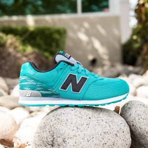 New Balance Big Kids 574 - KL574SDG (green)