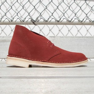 Clarks Men Desert Boot Suede (brown / terracotta)