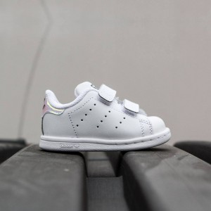 Adidas Toddlers Stan Smith CF (silver / metallic silver / footwear white)